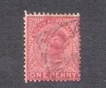 Sellos de Oceania - Australia -  Reina Victoria