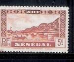 Sellos de Africa - Senegal -  Puente Faidherbe