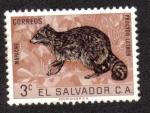 Sellos de America - El Salvador -  Fauna