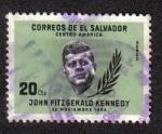 Stamps El Salvador -  John F. Kennedy (1917-1963)