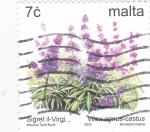 Stamps Malta -  Plantas
