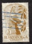 Sellos del Mundo : America : El_Salvador : 1er. Centenario de Depto. de Santa Ana