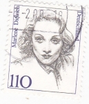 Stamps Germany -  Marlene Dietrich