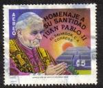 Sellos de America - El Salvador -  Homenaje a su Santidad Juan Pablo II