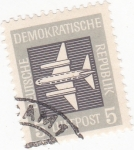 Stamps Germany -  Avión