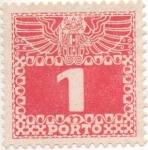 Sellos de Europa - Austria -  Y & T Nº 34 - Taxe