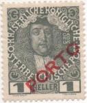Sellos de Europa - Austria -  Y & T Nº 47 - Taxe