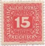 Sellos de Europa - Austria -  Y & T Nº 51 - Taxe