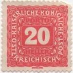 Stamps Austria -  Y & T Nº 52 - Taxe