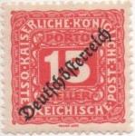 Sellos de Europa - Austria -  Y & T Nº 66 - Taxe