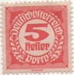 Stamps Austria -  Y & T Nº 75 - Taxe