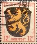 Sellos de Europa - Alemania -  Intercambio 0,20 usd 12 pf. 1945