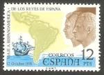 Stamps Spain -  2370 - Viaje a Hispanoamérica de los Reyes de España