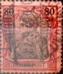 sello : Europa : Alemania : Intercambio mas 2,25 usd 80 pf. 1900