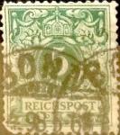Sellos de Europa - Alemania -  Intercambio 0,70 usd 5 pf. 1889