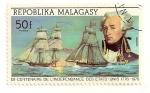 Stamps Africa - Madagascar -  Bicentenario de la independencia de EEUU