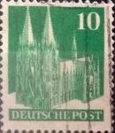 Stamps Germany -  Intercambio 0,20 usd 10 pf. 1948