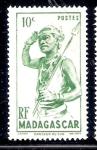 Sellos de Africa - Madagascar -  Danzante del sur