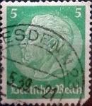 Sellos de Europa - Alemania -  Intercambio 0,20 usd 5 pf. 1934
