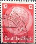 Stamps Germany -  Intercambio 0,20 usd 12 pf. 1934