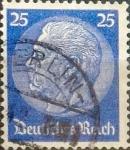 Sellos de Europa - Alemania -  Intercambio ma2s 0,20 usd 25 pf. 1934