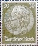 Stamps Germany -  Intercambio cxrf2 0,20 usd 30 pf. 1934