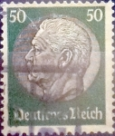 Stamps : Europe : Germany :  50 pf. 1934