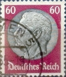Stamps : Europe : Germany :  60 pf. 1934
