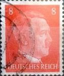 sello : Europa : Alemania : Intercambio mas 0,20 usd 8 pf. 1941