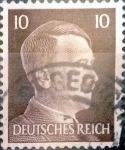 Stamps : Europe : Germany :  Intercambio agm 0,20 usd 10 pf. 1941