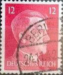 Sellos de Europa - Alemania -  Intercambio 0,20 usd 12 pf. 1941