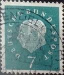 Sellos de Europa - Alemania -  Intercambio 0,20 usd 7 pf. 1959