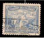 Stamps Colombia -  Recolectoras de cafe