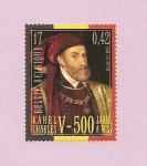 Stamps Belgium -  V Centº nacimiento de Carlos V  - emisión conjunta con España