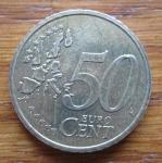 monedas de Europa - Francia -  MONEDA EURO CENT FRANCIA - (ANVERSO)