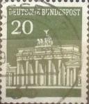 Sellos de Europa - Alemania -  Intercambio 0,20 usd 20 pf. 1966