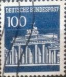 sello : Europa : Alemania : Intercambio mas 0,45 usd 100 pf. 1967