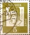 Sellos de Europa - Alemania -  Intercambio 0,20 usd 5 pf. 1961