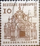 Stamps : Europe : Germany :   10 pf. 1964