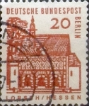 Stamps : Europe : Germany :  20 pf. 1965