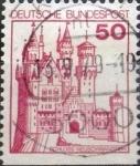 Stamps Germany -  Intercambio 0,20 usd 50 pf. 1977
