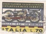 Stamps Italy -  Asociación Internacional de los Ferrocarriles