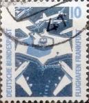 Stamps Germany -  Intercambio 0,20 usd 10 pf. 1988