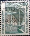 Sellos de Europa - Alemania -  Intercambio 0,20 usd 80 pf. 1987