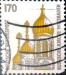Stamps Germany -  Intercambio 0,60 usd 170 pf. 1991