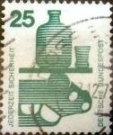 Sellos de Europa - Alemania -  Intercambio 0,20 usd 25 pf. 1971