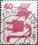 Sellos de Europa - Alemania -  Intercambio 0,20 usd 40 pf. 1972