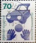 Sellos de Europa - Alemania -  Intercambio 0,30 usd 70 pf. 1973