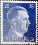 Sellos del Mundo : Europa : Alemania :  Intercambio mas 0,20 usd 25 pf. 1941