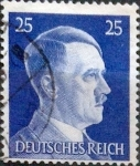 Stamps : Europe : Germany :  Intercambio aea2 0,20 usd 25 pf. 1941